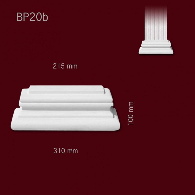 stuck pilaster base bp20b freie lieferung in hamburg. Black Bedroom Furniture Sets. Home Design Ideas